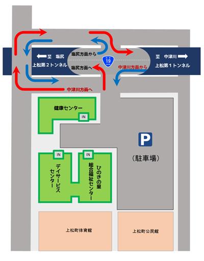 上松町社会福祉協議会アクセスマップ